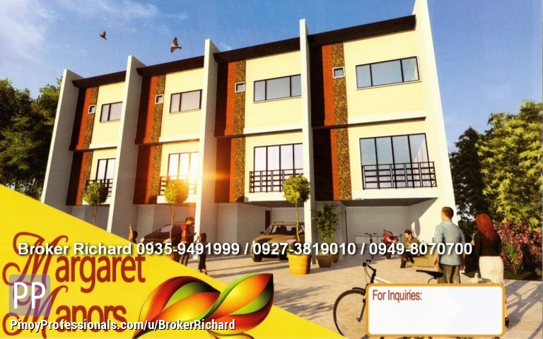 House for Sale - Vermont PArk Marcos Hiway Townhouses at 3.2M