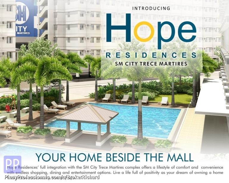 Apartment and Condo for Sale - CAVITE CONDO @ Hope Residences SM City Trece Martirez