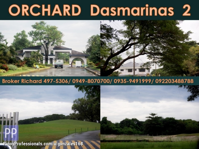 Land for Sale - GREENMEADOWS @ The ORCHARD 2 Dasmarinas Cavite ubdivision Lots = 5,000/sqm