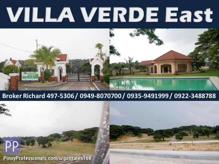 Land for Sale - VILLA VERDE ANTIPOLO-ANGONO SUBDIVISION LOTS = 5,900/SQM