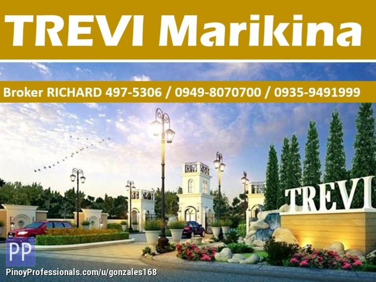Land for Sale - TREVI MARIKINA Subdivision Lots = 15,000/sqm