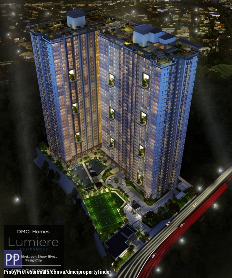 Apartment and Condo for Rent - Condo in Pasig Shaw Near Shangrilla LUMIERE RESIDENCES By DMCI HOMES No Spot Downpayment