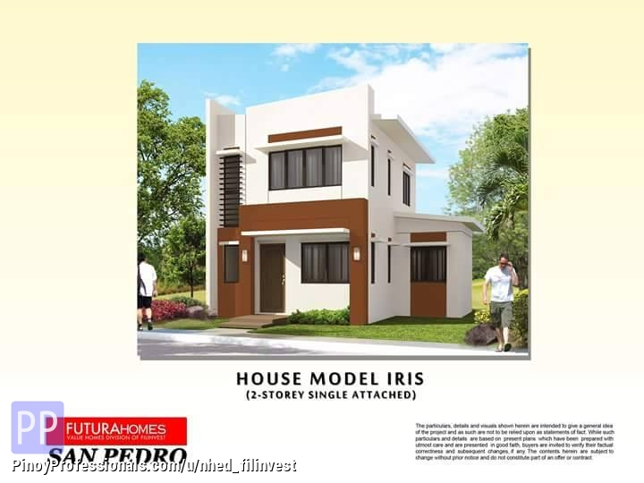 futura homes single attached house and lot for sale san pedro laguna