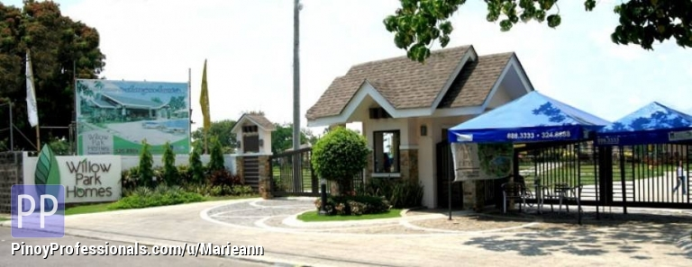House for Sale - RFO 10% DP Payable In 3mos House & Lot for Sale In Willow Park Homes - Cabuyao, Laguna