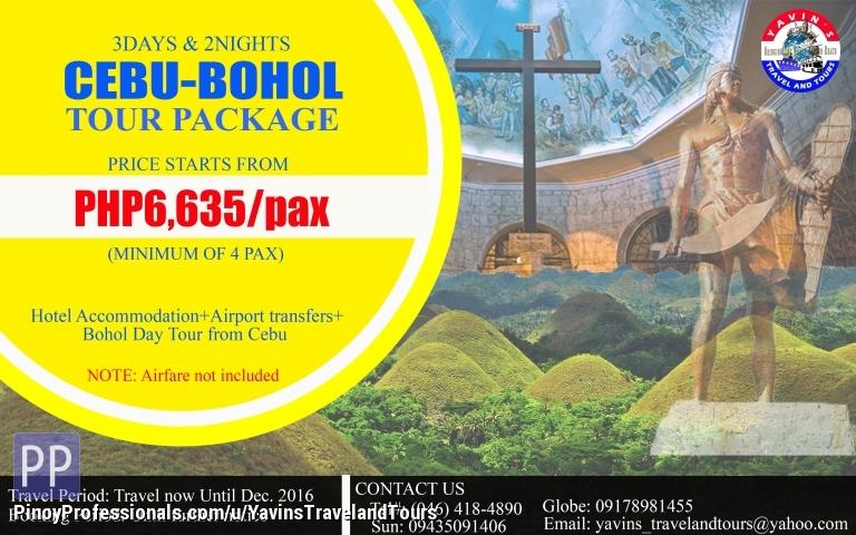 Bohol City Tour Package