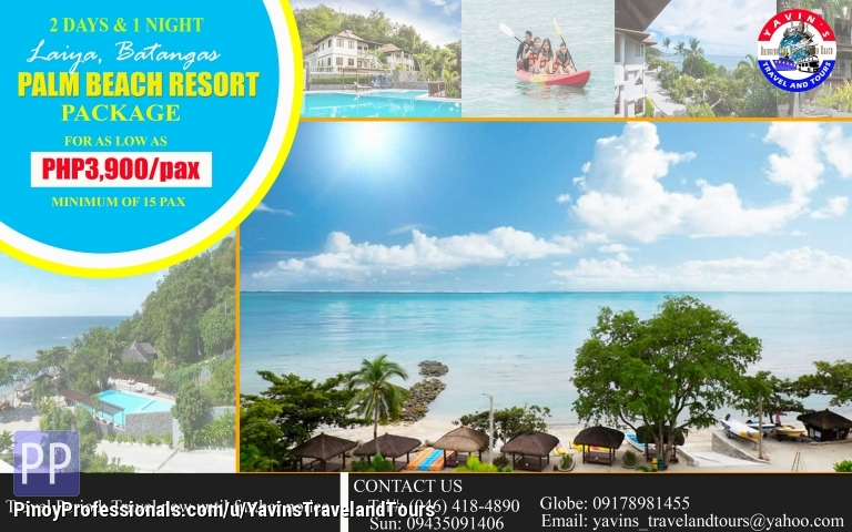 Vacation Packages Dn Palm Beach Resort Laiya Batangas