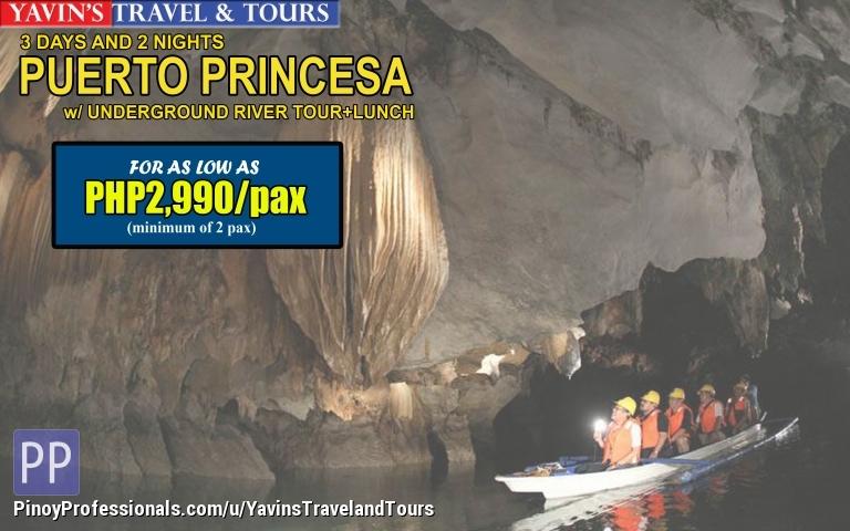 Travel Destinations - 3D2N Puerto Princesa with Underground River Tour
