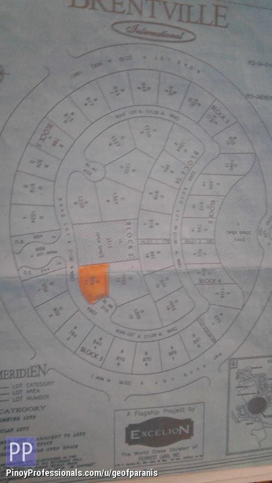 Land for Sale - Residential lot for Sale Brentville International Binan Laguna