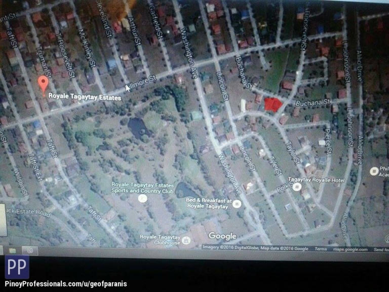 Land for Sale - Residential lot for Sale Royale Tagaytay Estates Tagaytay City