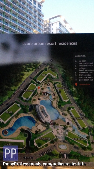 Apartment and Condo for Sale - FOR SALE: AZURE URBAN RESIDENCES with man made beach near SM Bicutan by Century Properties