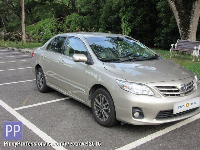 Car Rental - rent a car 'Toyota Altis'