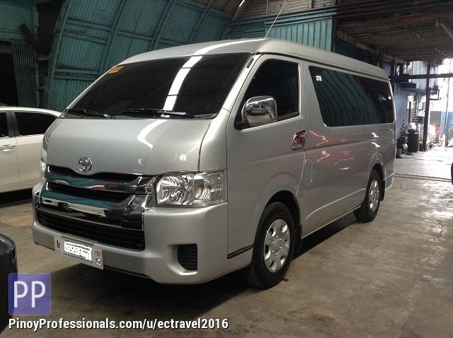 Car Rental - rent a car 'Toyota Hiace Grandia'