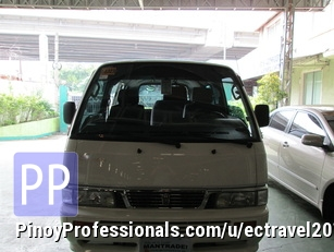 Car Rental - RENT A CAR nissan urvan