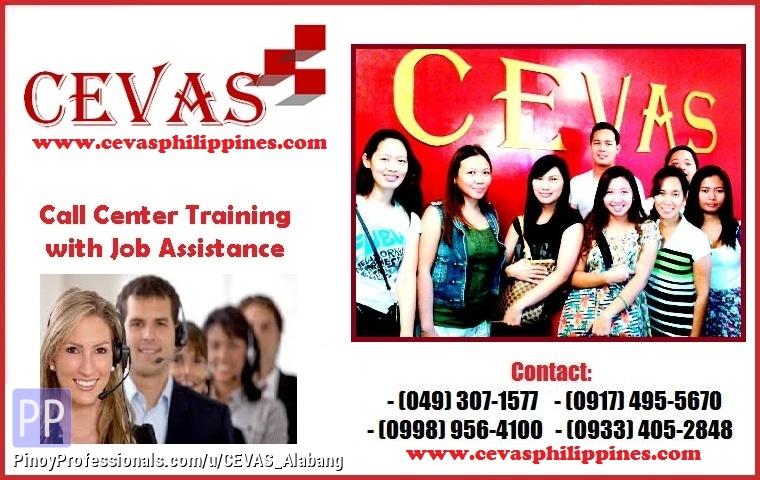 CEVAS Call Center Training School In Alabang Las Pinas Paranaque ...