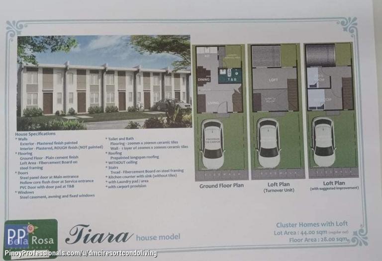 House for Sale - lofted murang pabahay sa santo tomas batangas