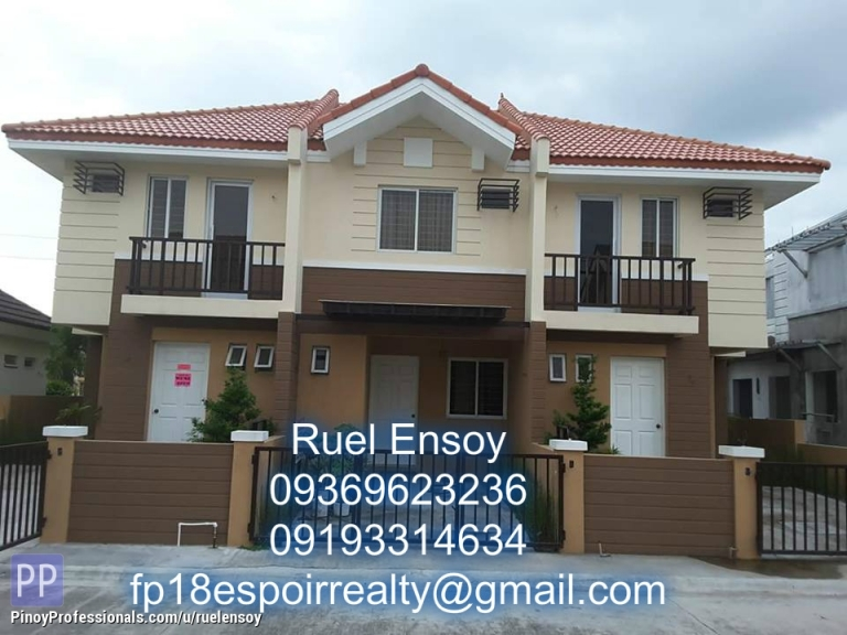 House for Sale - complete turnover house and lot in molino bacoor in danarose residences