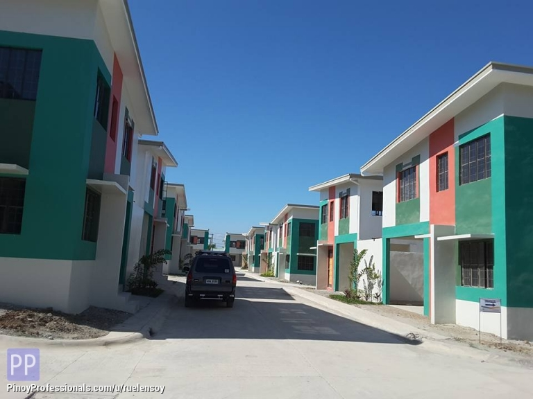 House for Sale - Golden horizon low cost thru pag ibig townhouse in hugo perez trece martirez