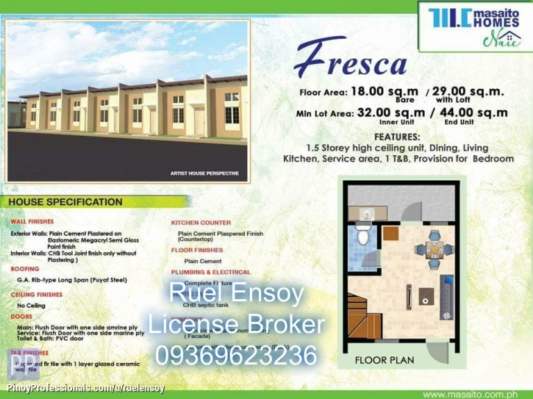 House for Sale - No down payment thru pag ibig low cost housing in naic cavite