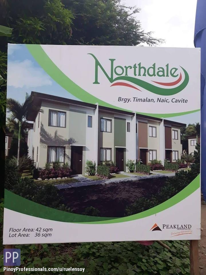 House for Sale - Townhouse in Naic Cavite NO DP northdale