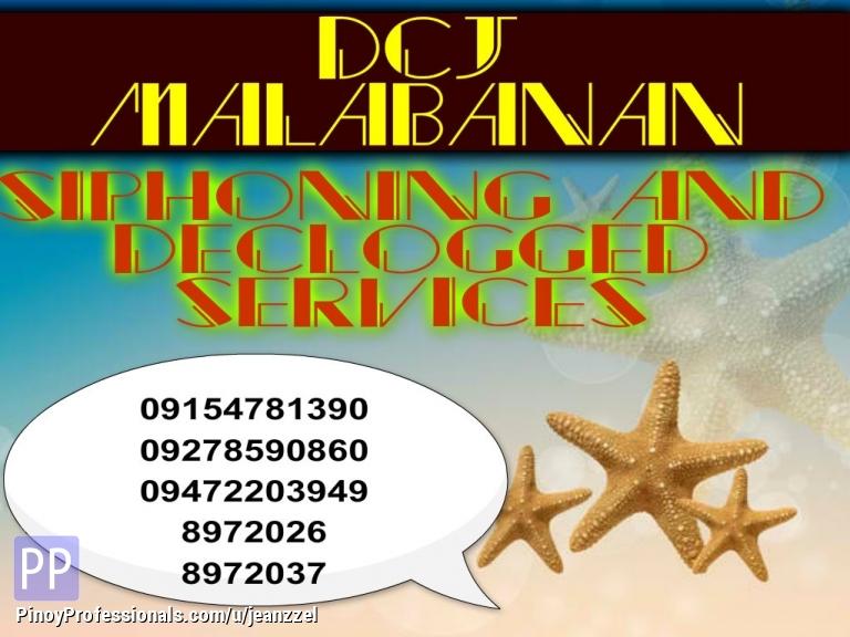 Everything Else - Dcj malabanan declogging services 09159197933