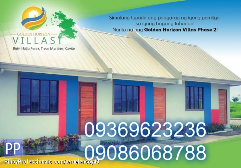 House for Sale - pag ibig housing in cavite low cost flood free lofted type