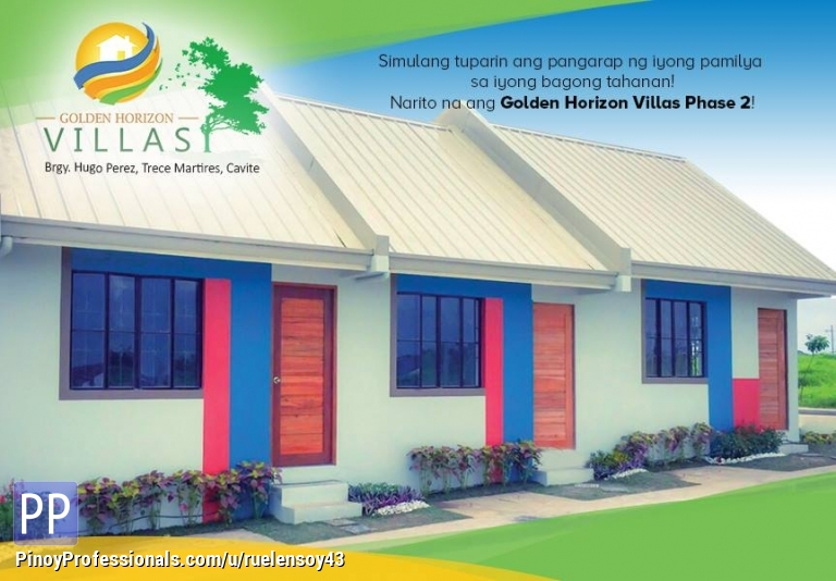 House for Sale - low cost housing in hugo perez thru pag ibig financing loft type
