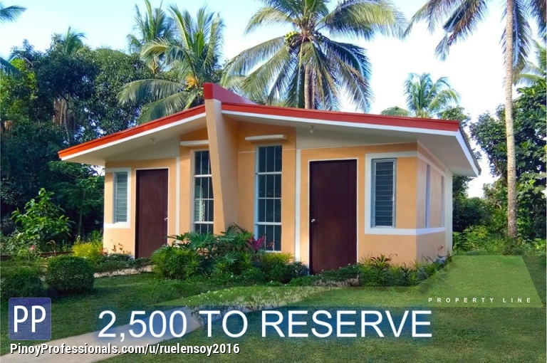 House for Sale - low cost housing in santo tomas batangas thru pag ibig housing