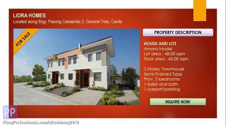 Apartment and Condo for Sale - Affordable house and lot pag ibig financing or inhouse