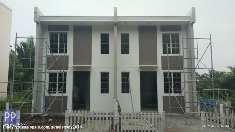 House for Sale - Pinakamurang Low cost housing thru pag ibig in Santo Tomas Batangas