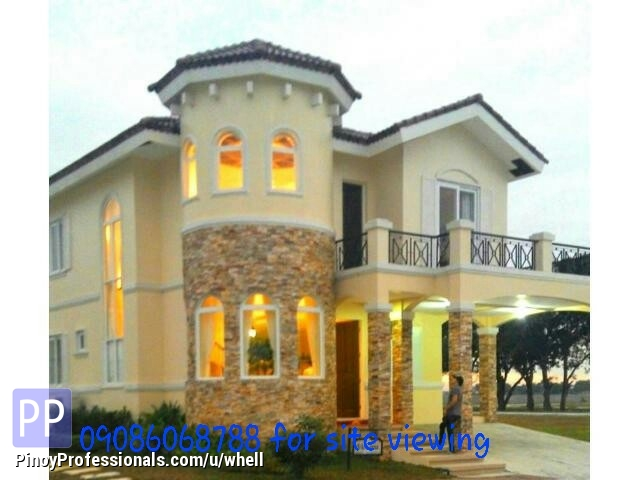 House for Sale - Affordable luxury house and lot in antel grand near in manila