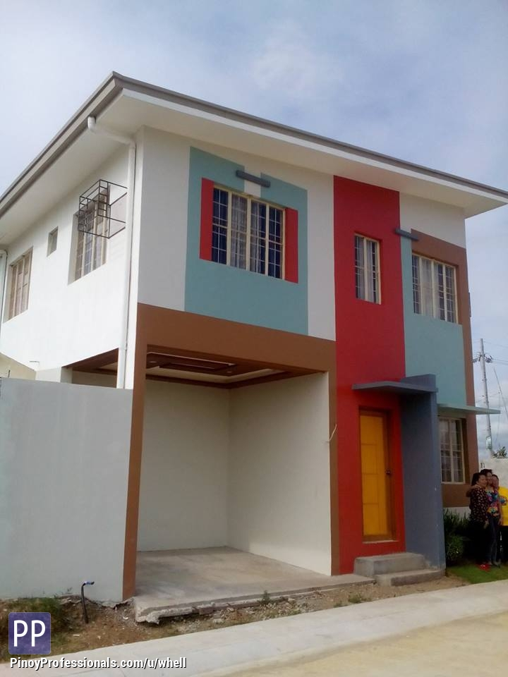 Pag ibig housing golden horizon low cost townhouse in hugo for Townhouse construction cost