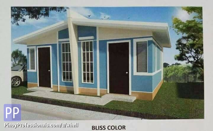 House for Sale - Low cost housing thru pag ibig housing loan develop by SM in Batangas