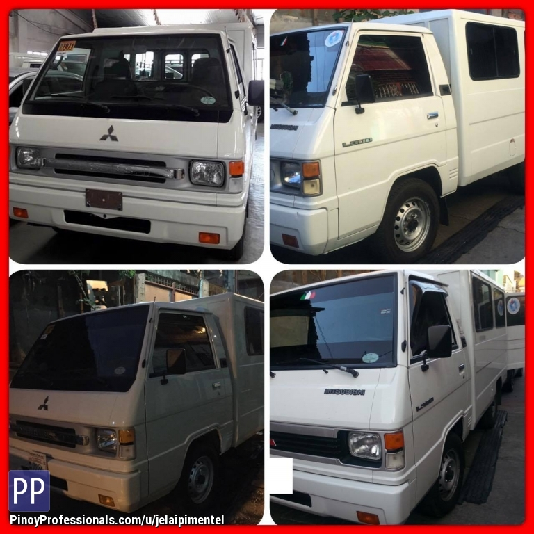 Transportation Services - van for rent. L300 FB van for delivery cargo and lipatbahay