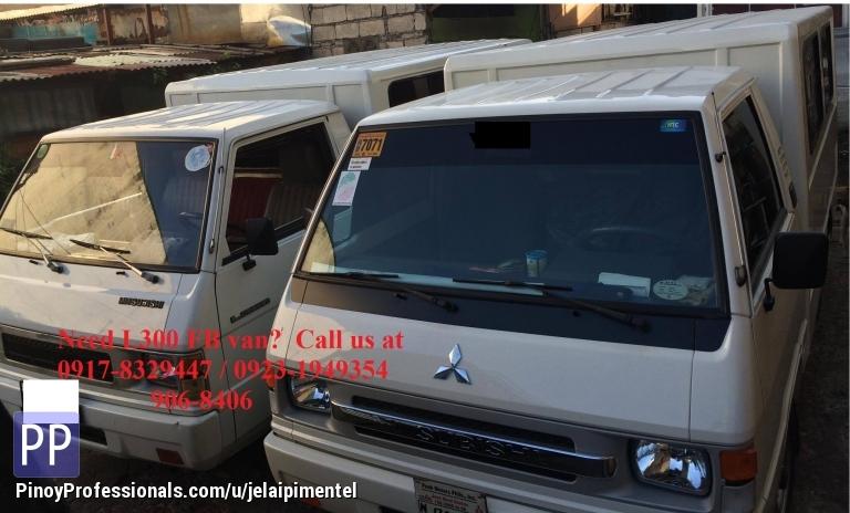 Car Rental - Mitsubishi L300 FB van for rent
