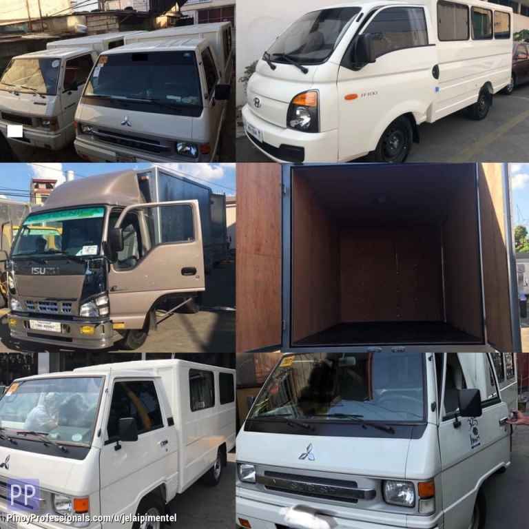 Moving Services - L300 fb van for rent 4w Truck closed van for lipatbahay delivery cargo