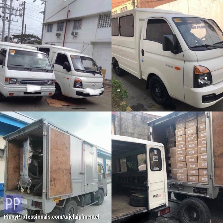 Moving Services - lipatbahay delivery cargo L300 fb van 4w Truck Closed van