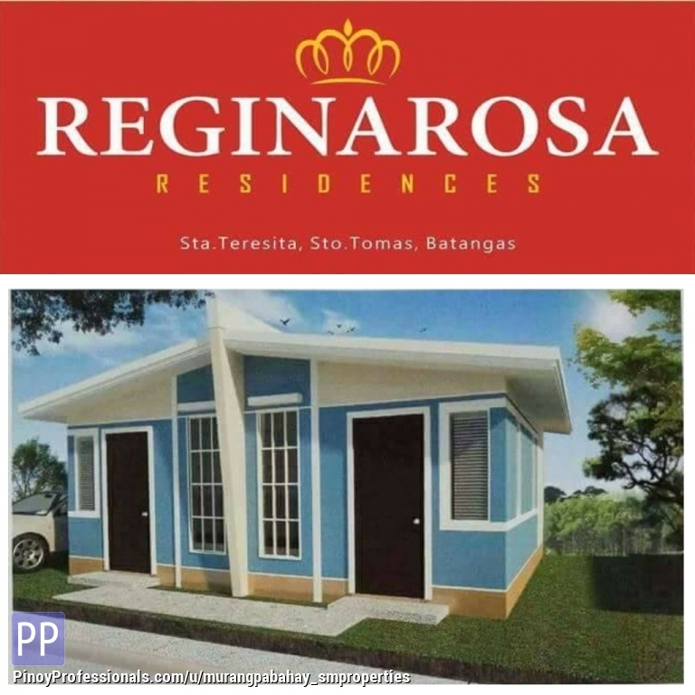 House for Sale - Reginarosa Residences Love Model also available thru Pag Ibig
