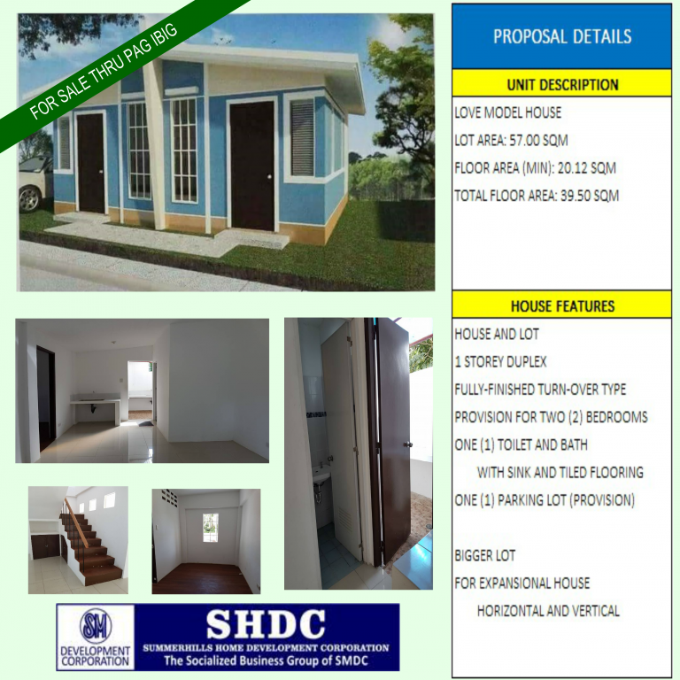 House for Sale - Lima Park at the back of SM Properties in Batangas