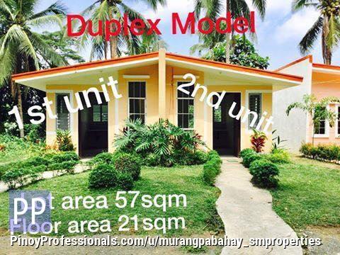 House for Sale - Bahay sa Batangas duplex with provision sa carport as low as 450k