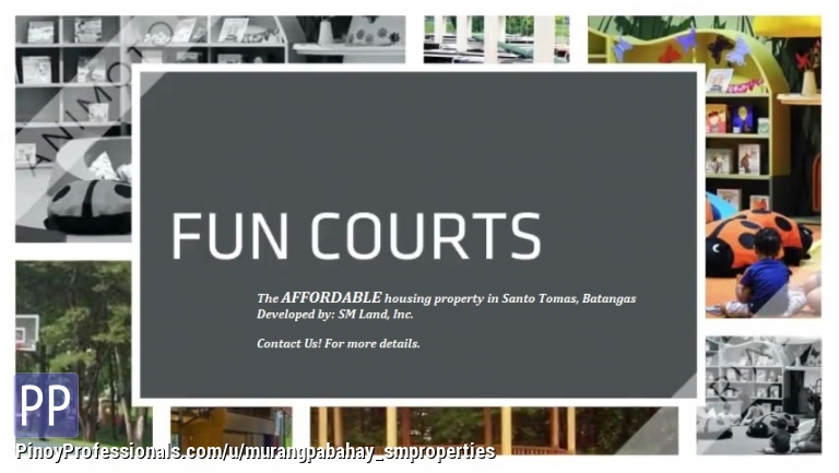 House for Sale - Duplex for sale near MALVAR/LIPA Batangas by SM Properties