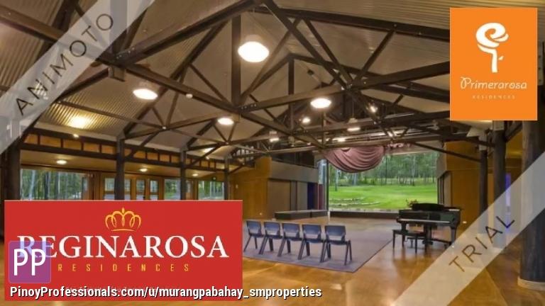 House for Sale - Duplex ka na ng Reginarosa 57sqm ang lot area P450k