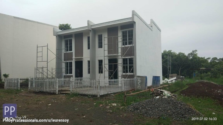 House for Sale - Tiara lofted unit in Santo tomas Batangas thru pag ibig housing loan