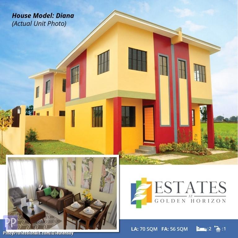 House for Sale - Golden Horizon low cost quadruplex in trece martirez cavite