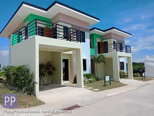 House for Sale - Pag ibig Loan House and lot single Detached unit in Golden Horizon