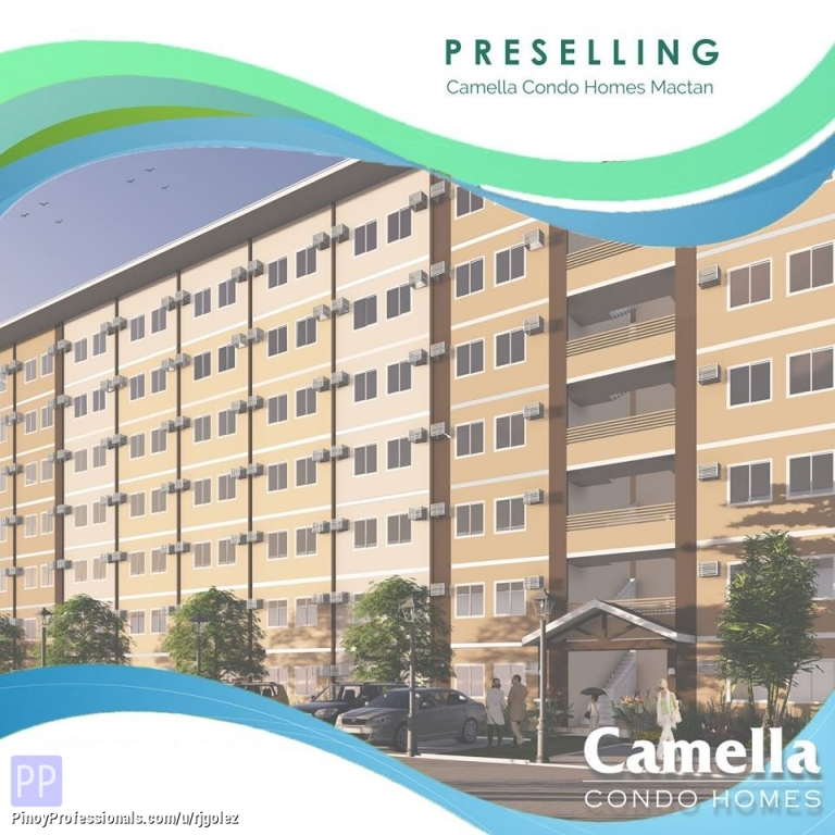 Apartment and Condo for Sale - Affordable Vertical living walk up condo for sale at Camella Condo Homes Mactan