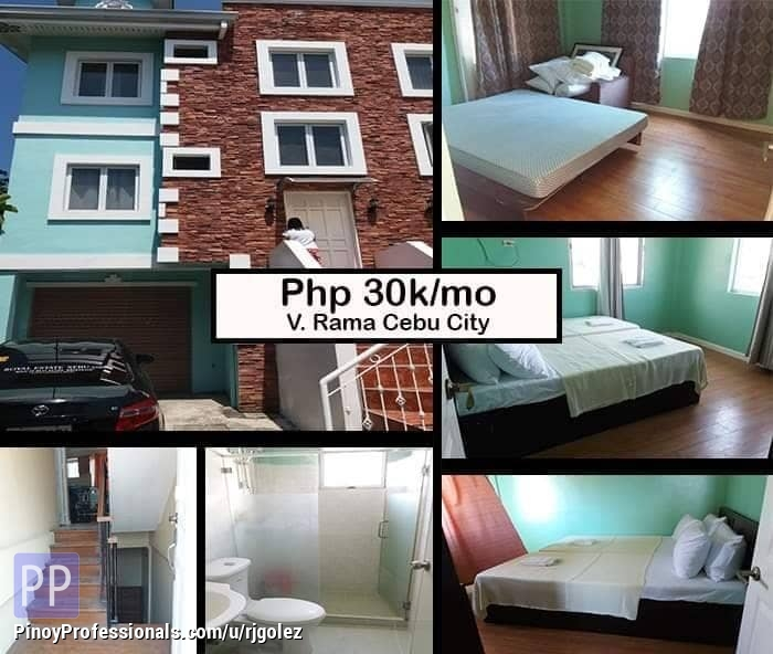 Apartment and Condo for Rent - House for rent at 188 Sunflower Drive Mimosa in V. Rama Cebu City