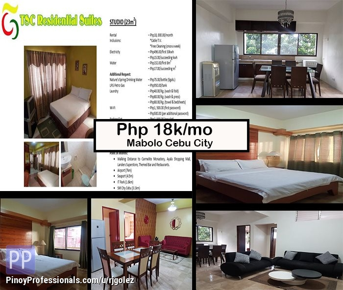 Apartment and Condo for Rent - Semi-Furnished Studio, 2BR and 3BR Units for rent