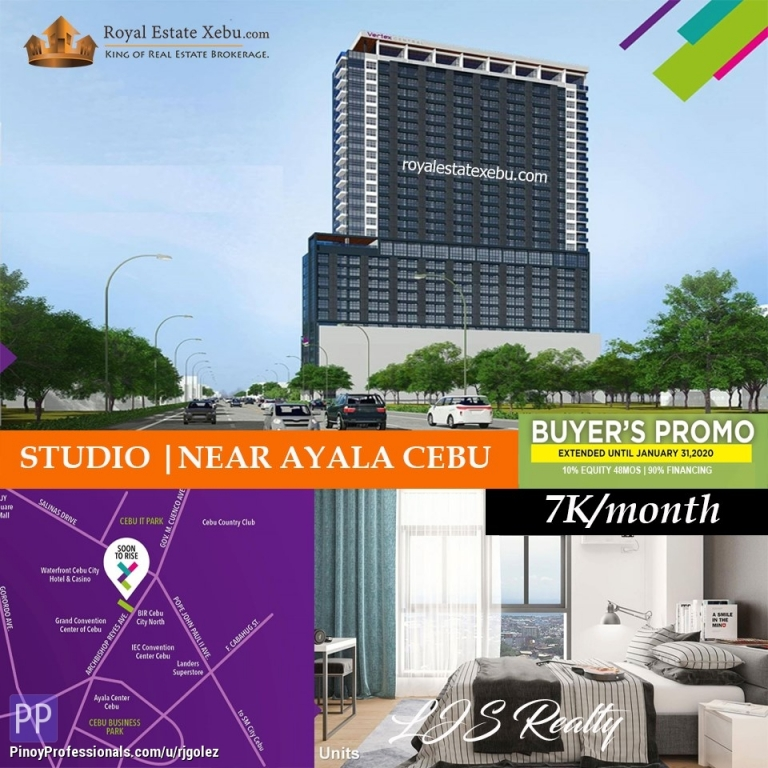 Apartment and Condo for Sale - ????STUDIO | VERY NEAR TO AYALA CEBU????