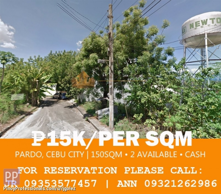 Land for Sale - Affordable below the price land for sale in Pardo Cebu