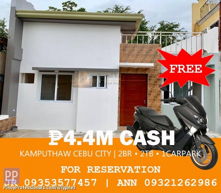 House for Sale - Bungalow House for sale in Kamputhaw, Cebu City